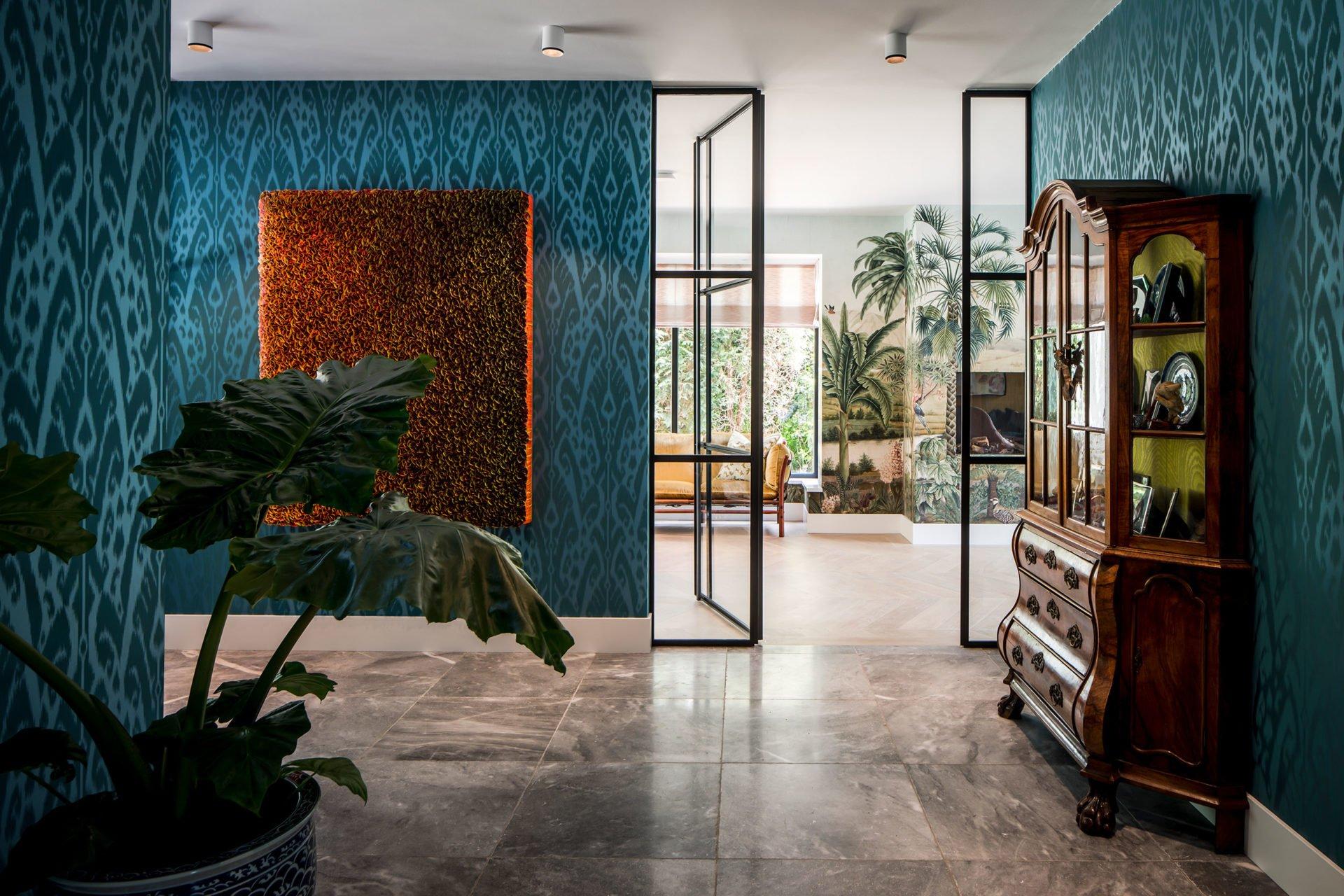stock dutch interior design house wallpaper patterns