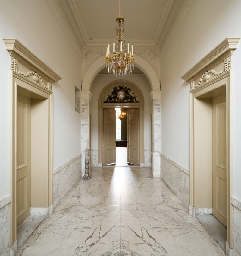 dutch interior design marble haarlem office chandalier