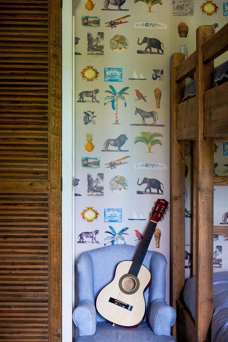dutch interior design guitar kidsroom