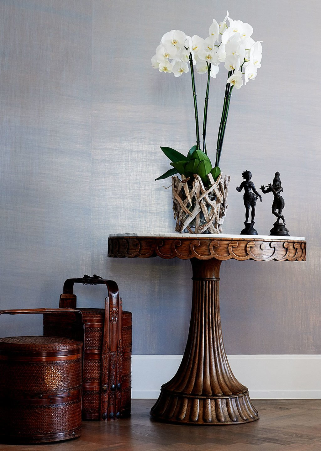 dutch interior design side table
