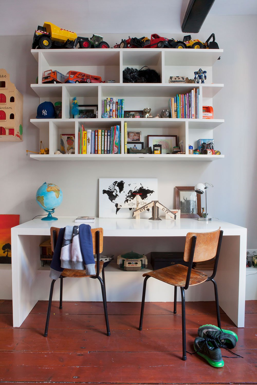 dutch interior design kidsroom study