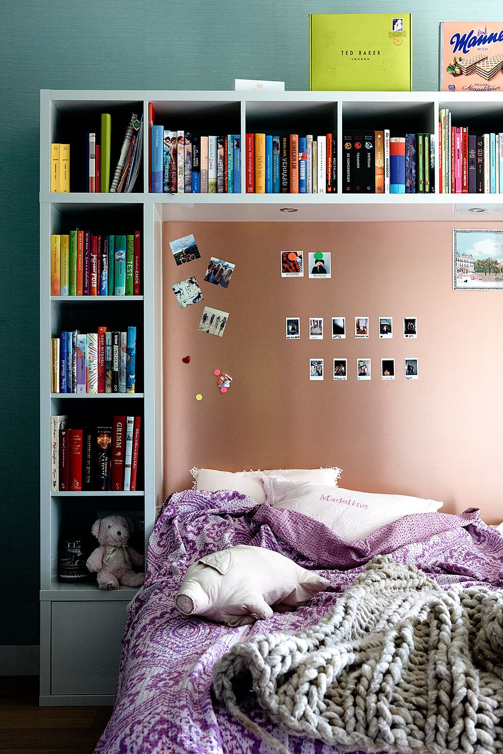 dutch interior design bedroom pink kids