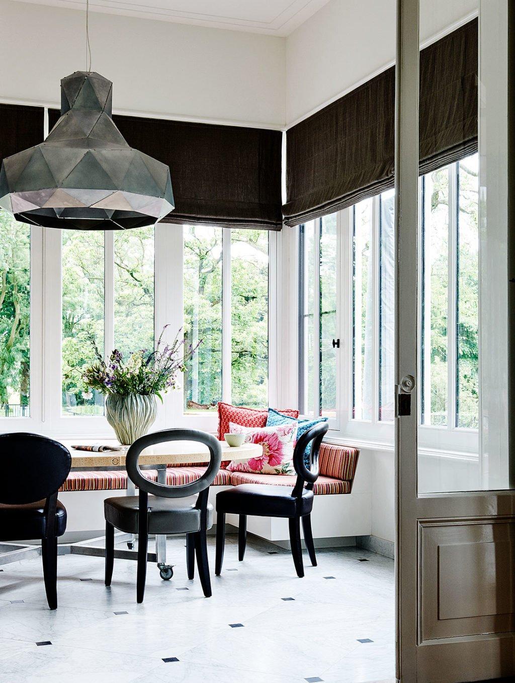 dutch interior design big lamp ceiling dining