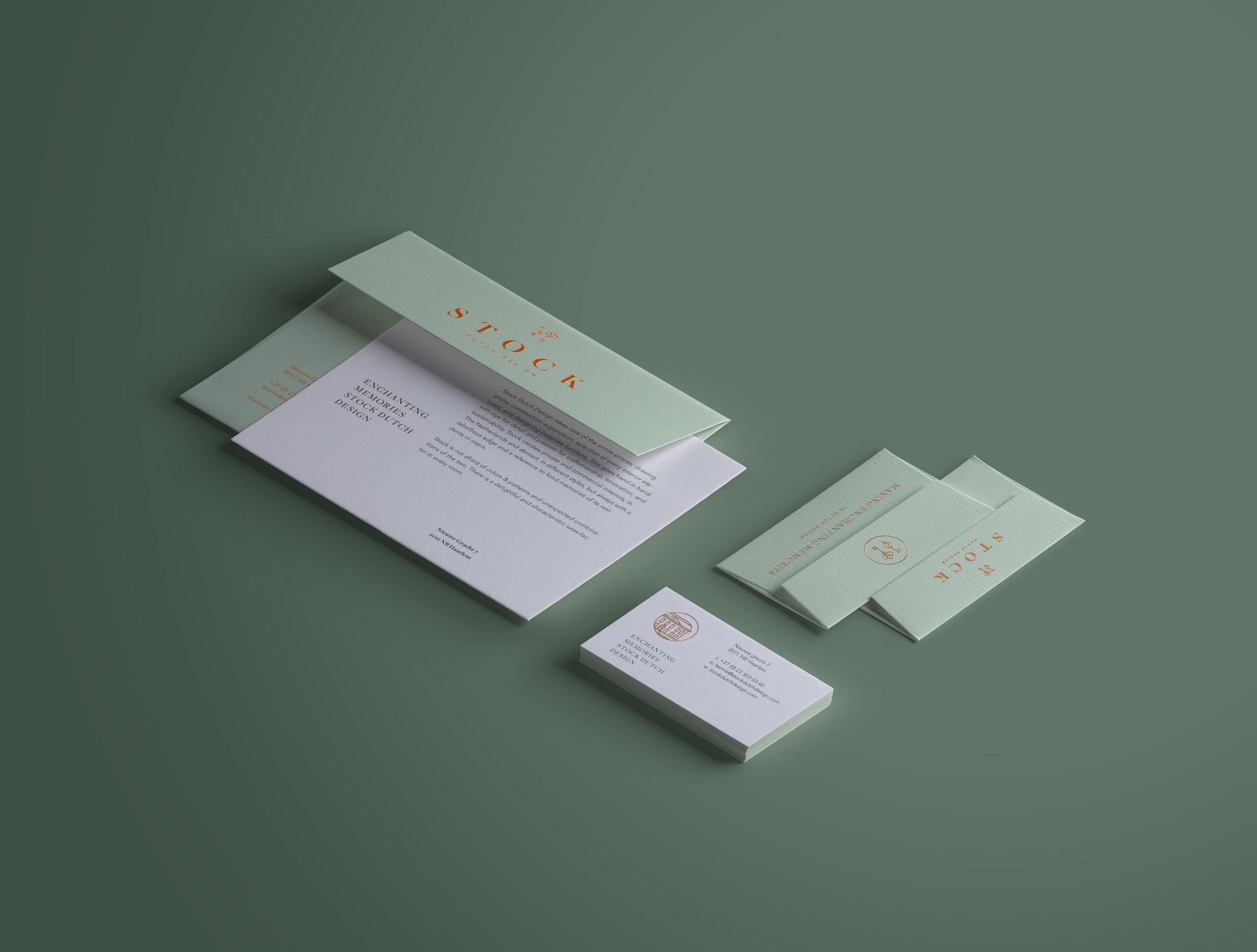 businesscard corporate stock